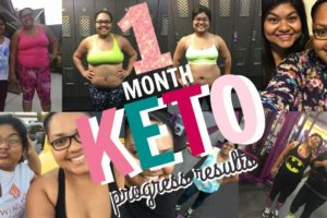 1 Month Ketogenic Low Carb Diet Progress Results