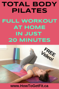 20minute pilates exercises  full workout at home  the
