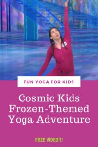 kids yoga adventure  disney's frozenthemed yoga for kids